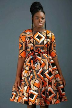 African Dresses Styles: Checkout This Creative African Dress Design African Dresses Styles: Checkout This Creative African Dress Design - Dabonke : Nigeria Latest Gist and Fashion 2019 Short African Dresses, Latest African Fashion Dresses, African Print Dresses, African Print Fashion, African Dress Styles, African American Fashion, Ankara Mode, Ankara Dress Styles, Ankara Gowns