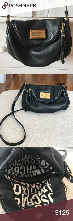 Marc Jacobs Classic Q Mini Natasha Crossbody bag Marc Jacobs black crossbody bag. Have had a few years but really only used it a handful of times. There might be very slight signs of wear, but honestly looks just like it did when I bought it! Marc By Marc Jacobs Bags Crossbody Bags