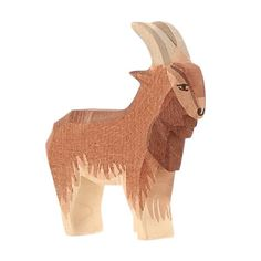 Hand carved in Germany. Size: 4.13 (inches) Ages: 3 and up All Ostheimer toys are handcrafted in Germany on a very high quality level. The soft edged form and the soft colours are typical. In the inte