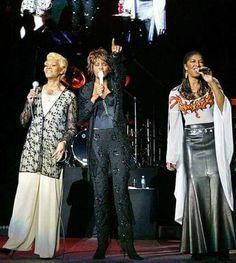 Dionne Warwick, Whitney Houston & Natalie Cole in Munich 2004