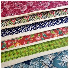 Some of our stunning Katazome papers!