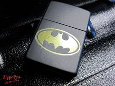 Batman Zippo by ZippoPro on Etsy, $26.95