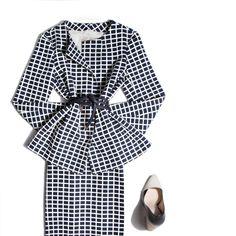 #Week's Outfit: Business. #skirt #jacket #origami #salones #purificaciongarcia www.purificaciongarcia.com