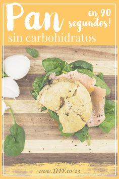 Bread without Carbs in 90 Seconds! New Recipes, Low Carb Recipes, Recipies, Pan Cetogénico, Comida Keto, Healthy Recepies, Keto Bread, Bread Carbs, Food To Make