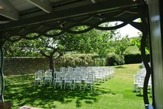 With the South Downs as a backdrop, it's the bride and groom who get the best view!