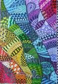 Google images for Zentangle color.  Crazy amazing will I ever be able to do this