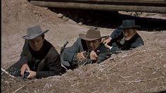 DeForest Kelley as Morgan Earp in Gunfight at the OK Corral