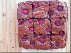 Best Ever Chocolate-Raspberry Brownies