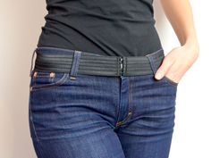 DIY: Onzichtbare riem - My Simply Special - invisible belt