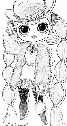 1191 best lol's images in 2020  lol lol dolls coloring pages