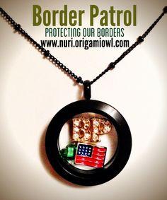 #Border Patrol Support  #Borderpatrol #CBP  www.nuri.origamiowl.com
