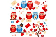 Love Owls by LoveGraphicDesign on Creative Market