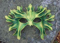 green leafy mask.  brilliant.