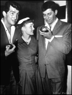 Dean and Jerry with Debbie Reynolds