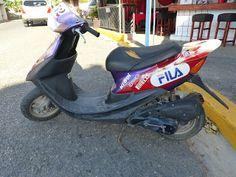 OldMotoDude: Honda ZX Scooter spotted on Dominican Republic tri...