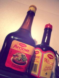 Maggi Whiskey Bottle, German, Drinks, People, Food, Switzerland, Nostalgia, Deutsch, Drinking