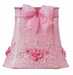pretty pink lamp shade