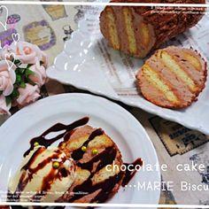 miumo さんの投稿をみて✨っ!!*.。(๑・∀・๑)*.。 あたしも〰〰(*≧∀≦*)と共感(笑) miumo さんは「ベストテン」で、あたしは「徹子の部屋」で一度このケーキを見ただけです たしかに!鮮明に覚えてる〰〰✨ってことで、チョコカスタードがあったのでそれとホイップでクリームをつくりました(o^-^o) 簡単♪簡単♪おいし♪おいし♪╰(*˘︶˘*)╯  今日は息子の試合でした。来週の決勝に行くためには今日3試合勝ち続けなきゃいけません。 3試合目に3-0で負けちゃいました… スタメンで出れたことはよかったけど、チームとして勝つことにもこれからはもっとこだわらなきゃね…(๑ŏ  - 122件のもぐもぐ - 黒柳徹子さんのチョコレートケーキ by りずむ