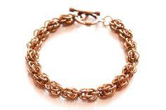 Sweat Pea Bronze Bracelet by Gibbtall on Etsy, $20.00