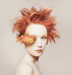 Digital Art: animeyed by Flora Borsi, Budapest, Hungary.