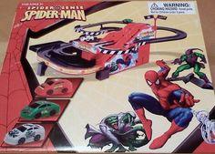 Spider Sense Spider-Man Mini Race Track