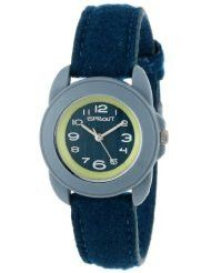 Natural Luxe - sprout watches - teal blue felt wristband watch