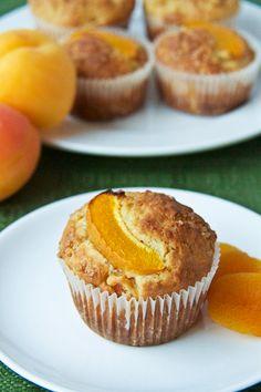 Apricot Oatmeal Muffins-5