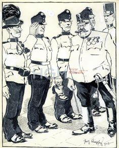 My World, World War, Austro Hungarian, Cobra, Bavaria, Wwi, Caricature, Austria, Empire