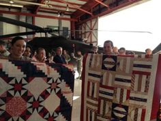 "Quilts of Valor: A ""Quilt of Valor"" Home Coming celebration quilt"