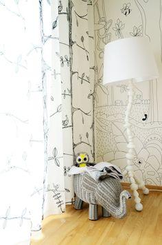 Joanna Paszko Ochotny Homestyling. Dom Warszawa Włochy.  Pokój małej dziewczynki. Zdjęcie: Sandra Lenczewska