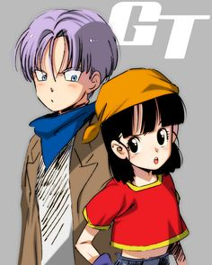 Trunks and Pan Dragonball GT「DBログ02」/「ゆきみつ」の漫画 [pixiv]