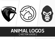 25 Creative Vector Animal Logo Designs for Inspiration Logo Design, Graphic Design, Patch Design, Animal Logo, Creative Logo, Badge, Patches, Branding, Logos