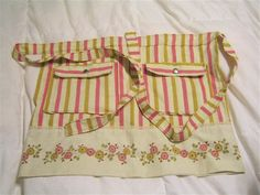pinned says: This site always has great tutorials, this one in particular has GREAT step-by-step instructions on how to make a pillowcase apron.