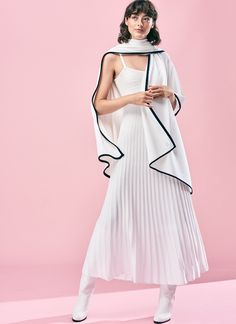 Busnel S/S18 High Neck Dress, Image, Dresses, Fashion, Turtleneck Dress, Vestidos, Moda, Fashion Styles, Dress