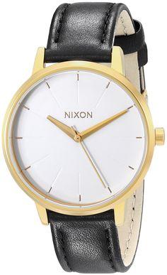 Nixon Women's A1081964 Kensington Leather Watch