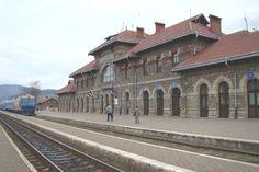 Piatra Neamt Romania train station romanians city trains european ...