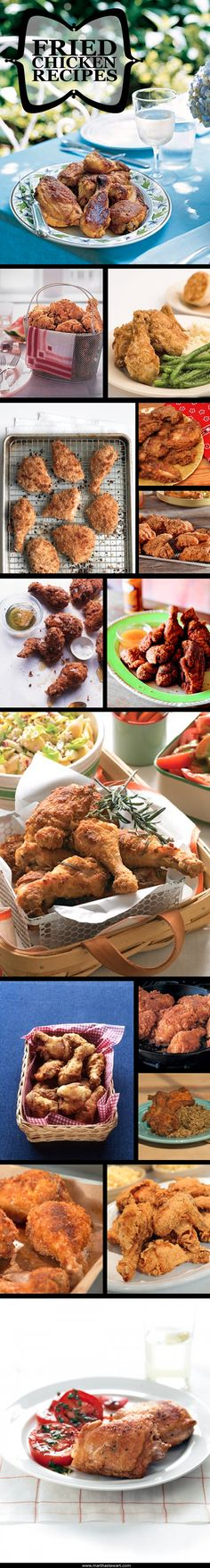 Fried Chicken Recipes | Martha Stewart Living