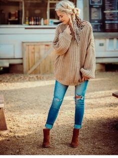 Cute Fall Outfits, Warm Outfits, Hot Mom Outfits, Young Mom Outfits, Bohemian Fall Outfits, Stylish Mom Outfits, Everyday Casual Outfits, Perfect Fall Outfit, Bohemian Clothing