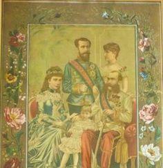 Elizabeth, Franz Josef I., Rudolf, Stephanie and Erzi