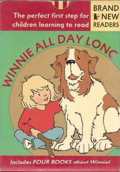 Winnie All Day Long - 4 Book Early Reader Set - Level 1 Readers - S/Hand
