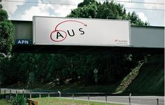 Virgin Australia billboard. Stupid simple. (Yes, it's a billboard, but it was also a print ad.) Ad agency: Clemenger BBDO, Sydney.
