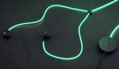 Glow : Auriculares laser