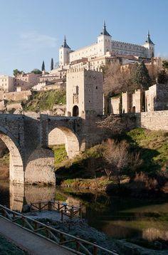 ofeliatupan: Castelos medievais na Espanha