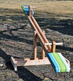 Make your own backyard see-saw by Ana White via Apartment Therapy