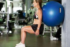 Beginner Squats: For Thighs  www.slimgenics.com
