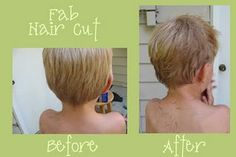 #Boys #haircut #tutorial (I'm going to have to figure this out someday--soon!) #frugal