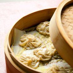 Shanghai Soup Dumplings (Xiao Long Bao) - Pork belly and scallions