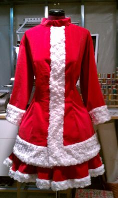 Mrs. Santa Clause client requested costume
