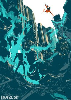 The Amazing Spider-Man 2 (unused IMAX poster) by Matt Taylor