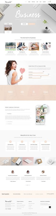 Moments is wonderful WordPress template for multipurpose #Wedding, #Celebration & Event #website with 18+ stunning homepage layouts. Download Now!